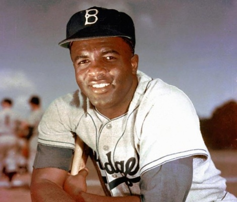 This is my salute to Jackie Robinson, who wasn't just a great baseball player but a hero.