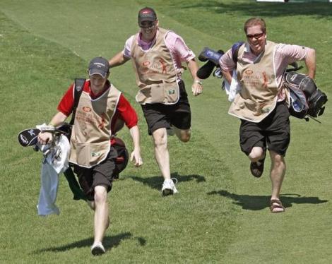 PGA to ban caddy races