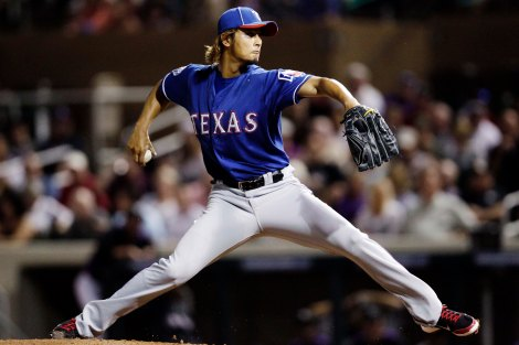 Yu Darvish pitches one-hitter (near perfect game)