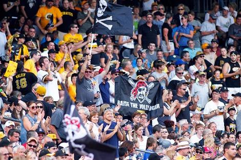 Pittsburgh Crowd shakes Cueto